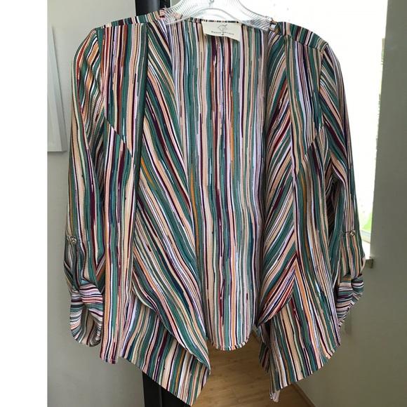 hyped unicorn Jackets & Blazers - SOLD   HYPED UNICORN Stripe Blazer   Green